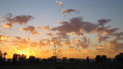 Sunset, 17 Oct 2008