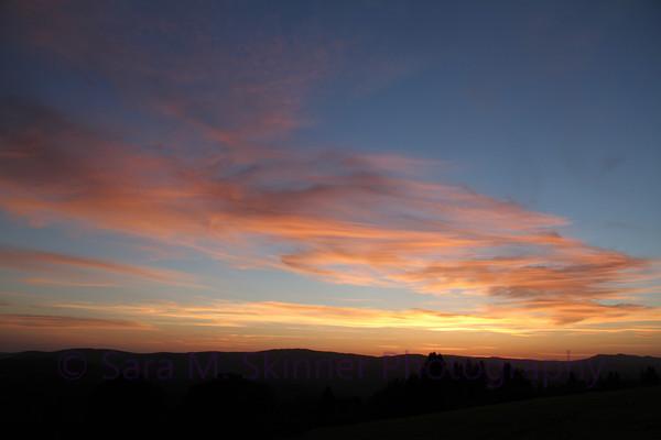 Sunset Ridge Painting III