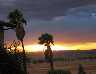 Sunset, 22 Mar 2007