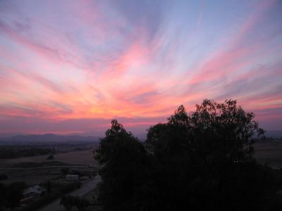 Sunset, 28 Oct 2007