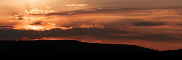 Sunset High Uintahs, Utah