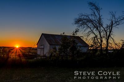 Walburg Sunset