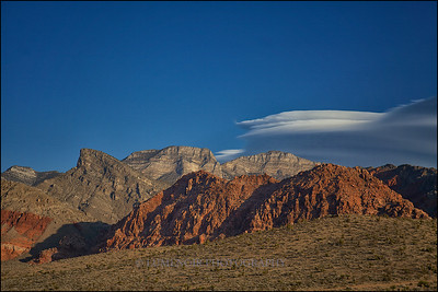 Red Rock Canyon, Calico Basin.