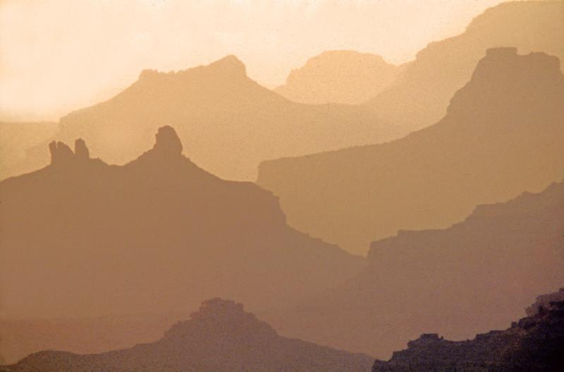 Canyon shadows Utah
