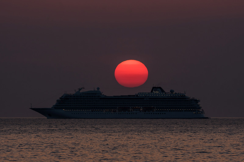 Viking sky sunrise 21/4/18