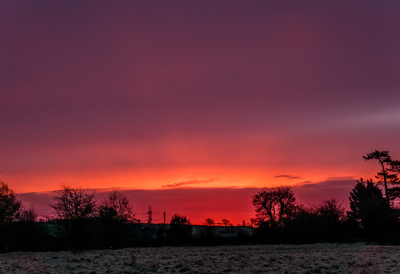 Sunrise, Siston Common 08/03/2016