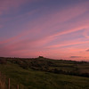 Kelston Roundhill sunset colours 18/10/16