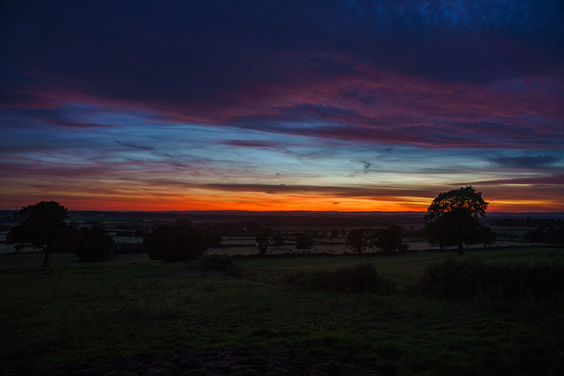 Hawkesbury sunset 23/6/18