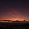 Sunset from North Stoke/Kelston 18/10/16
