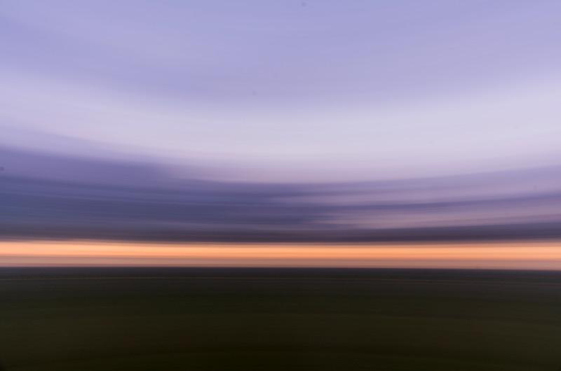 360 degree sunset panoramas up at North Stoke 1/4/17