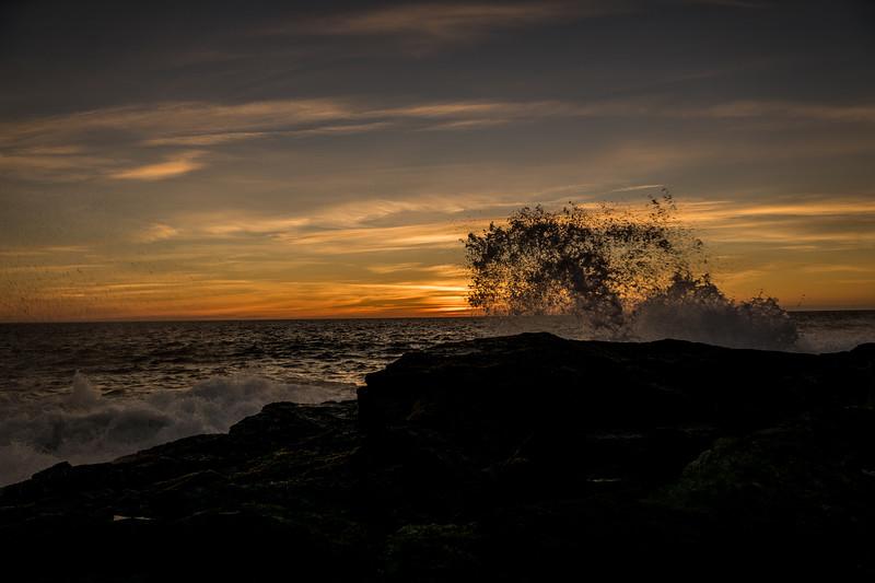 Sunset at Backaras. September 2015