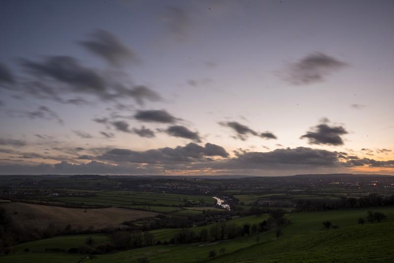 Post sunset at North Stoke 23/2/17
