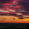 Sunset from North Stoke 17/6/16