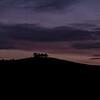 Kelston Roundhill silhouette 28/1/16