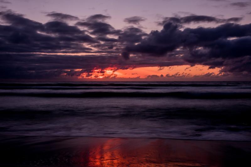 Sunset on Grobust, Westray. May 2016
