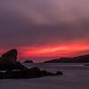 Sunset at Spiggie, Shetland. May 2016