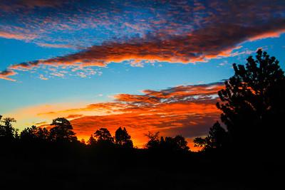 RMNP; Rocky Mountains;  mountains,  sunset