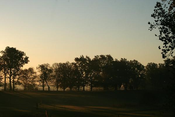 Sunrise at Oatlands Plantation, Leesburg, VA