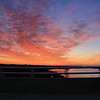 a lil' movement as I drive across the new Sunset Beach Bridge at Sunrise