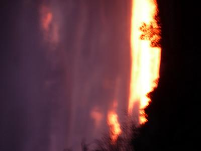 Sunset January 24 2012