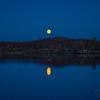 2 AM moonrise at Sunset Camp.