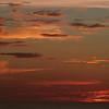 Sunset at sea near Dakar.