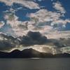 Sunrise off Commonwealth of Dominica.