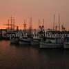 Sunset on the Fleet San Francisco