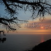 Sunset on Hwy 1, near San Simeon, CA