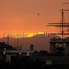 Sunset at Hyde Street Pier