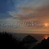 Sunset California Coast