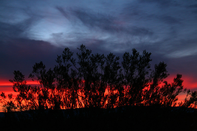 Blazing Sunrise - Death Valley National Park - CA