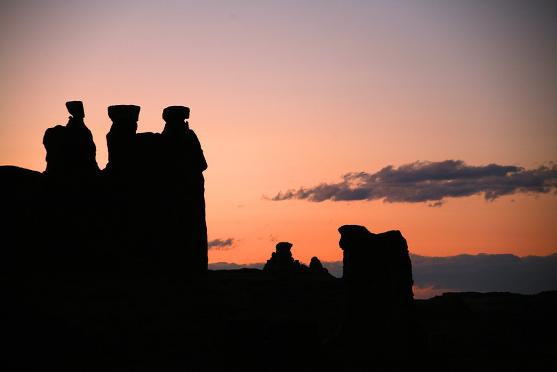 The Three Gossips - Arches National Park - UT