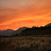 Smoky Sunset - Grand Teton National Park - WY