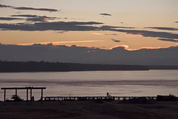 Sunset at Puget Sound