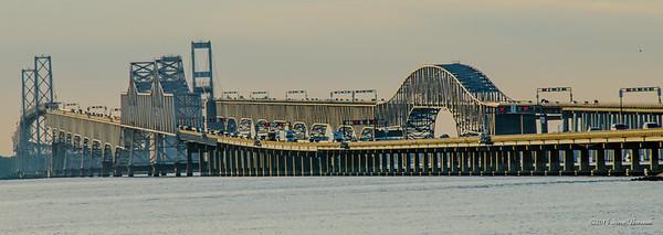Chesapeake Bay Bridge, 4.3 miles long