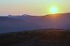 Solnedgang fra Fusafjellet