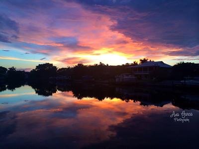 Sunset Reflection. #AnaGarciaPhoto
