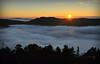 Solnedgang frå fjelltur.<br /> <br /> Sunset from the mountain