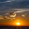17/09/2013 – 19:21 Tramonto sul Mar Ligure. Sullo sfondo le Alpi Marittime. Sestri Levante, Genoa Italy