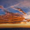 17/09/2013 – 19:33 Tramonto sul Mar Ligure. Sullo sfondo le Alpi Marittime. Sestri Levante, Genoa Italy