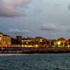 10/09/2013 – 20:00 La Baia di Ponente al crepuscolo. Sestri Levante, Liguria, Genoa Italy