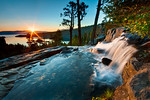 """Summer Sunrise at Eagle Falls, Lake Tahoe"""