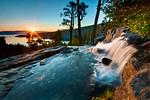 """Summer Sunrise at Eagle Falls, Lake Tahoe"""