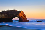 """Natural Bridges at Sunset"""