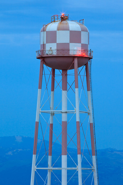 Sunnyvale_Water_Tower_Downtown_Checkboard_Sunnyvale_California_sunset_Dusk_Northern_California