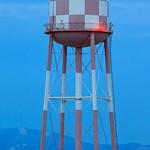 Sunnyvale_Water_Tower_Downtown_Checkboard_Sunnyvale_California_sunset_Dusk_Northern_California
