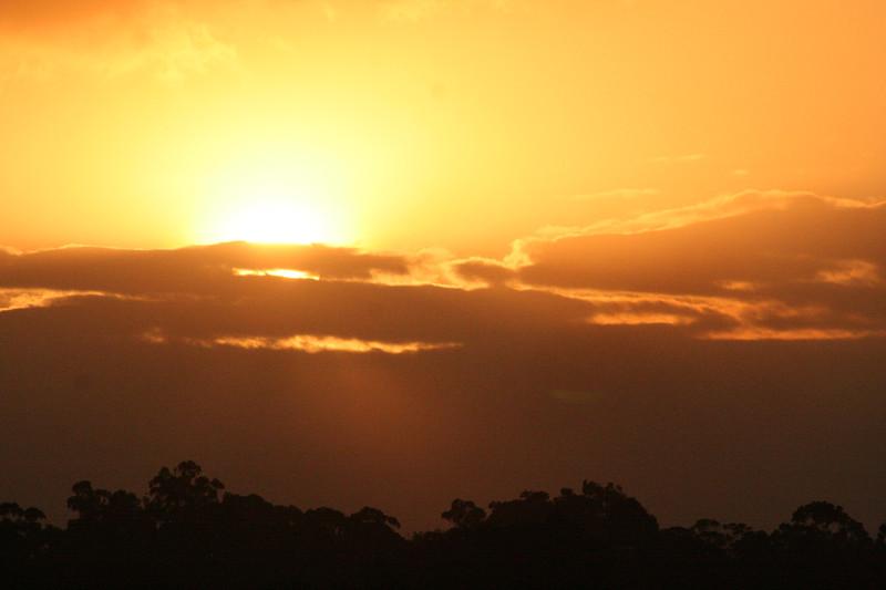 Sunset over Nairobi