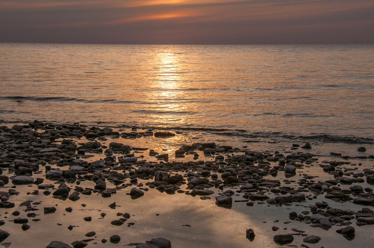 Sunset In Fish Creek