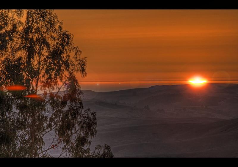 Burnside Road Sunset